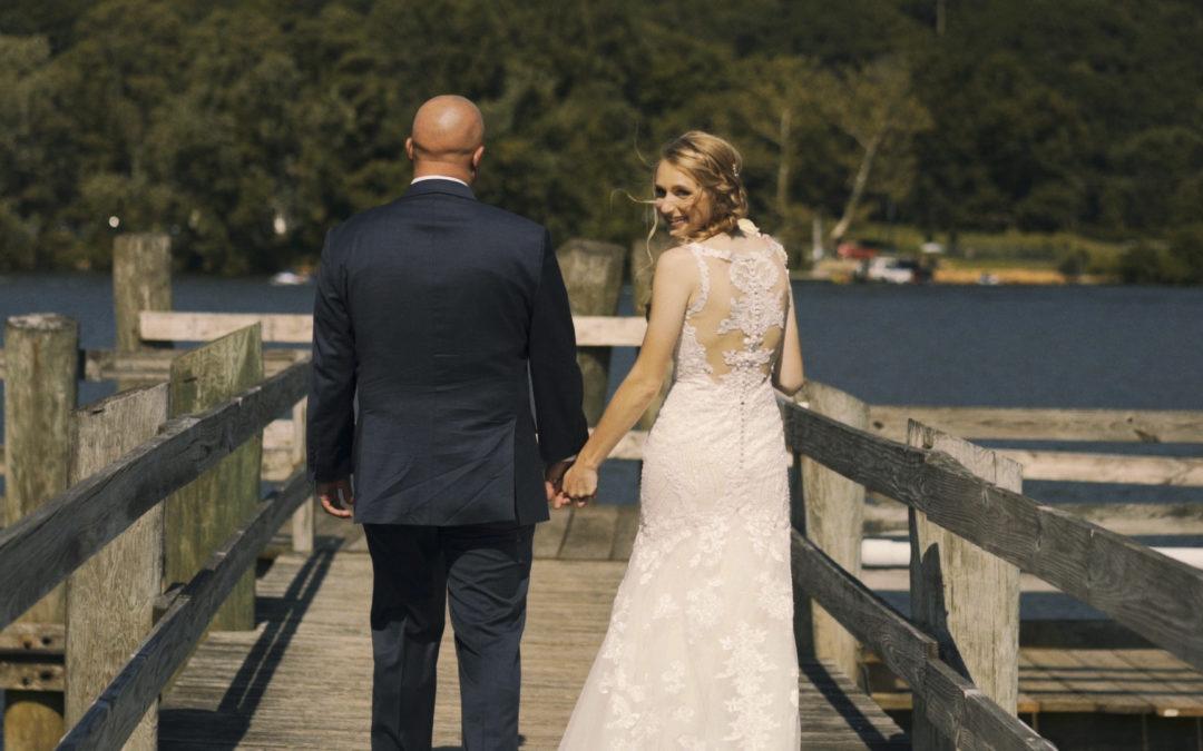 Gina & Mike | Riverhouse At Goodspeed Station Wedding Film | Haddam, CT