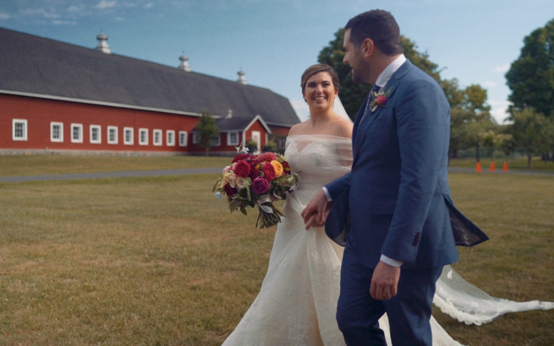 Four STUNNING Lion Rock Farm Wedding Videos | New England Creative