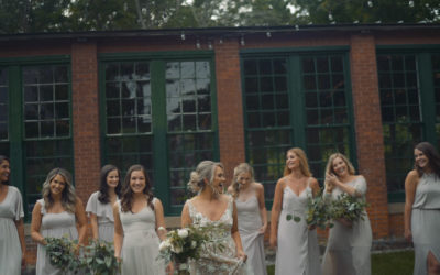 Lace Factory Wedding Video | Courtney & John | Deep River, CT